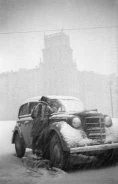"""Dad's Car"" by Boris Kosarev, 1950-60s"