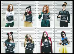 Fairy Tale Convicts Halloween Group Costume. Princess been bad.