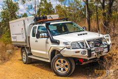 trayon camper slide on camper 4wd suspension upgrade Toyota Hilux
