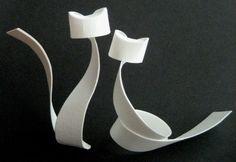 Cats in paper origami remixed as metal fixtures - Matter Incognita Gato Origami, Origami Paper, Pottery Animals, Ceramic Animals, Sculptures Céramiques, Sculpture Art, Ceramic Pottery, Ceramic Art, Paper Art