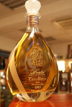 Paolo Berta Old Italian Grappa from 1993.