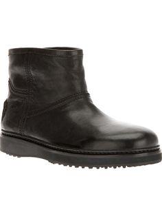 CAR SHOE rhinestone detail ankle boot