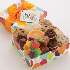 Happy Birthday Treats Gift | Birthday Gift Ideas | Cheryls.com | Surprise your birthday pals with a yummy assortment of Cheryl's treats!