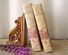 Vintage Book Set William Shakespeare The Complete by CynthiasAttic