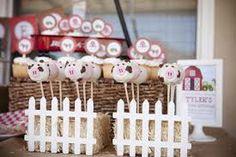 little farm party decor - Pesquisa Google