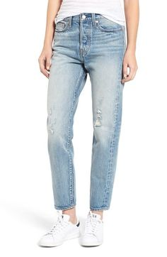 Levi's® The Wedgie Relaxed Fit Jeans (Foothills) available at #Nordstrom