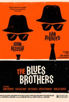 The Blues Brothers (photo booth prop idea)