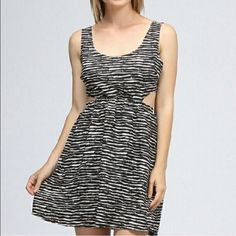 Free Flow Cute Out Dress! So Cute!