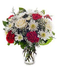 Christmas Flower Arrangements | ... Christmas Flowers |