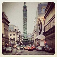 Vendome square, Paris