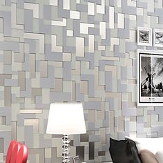 Art Deco Wallpaper Contemporary Wall Covering 0.53m*10m 4748297 2017 – Kč973