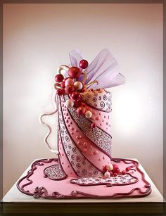 I think! this is a cake! or art?