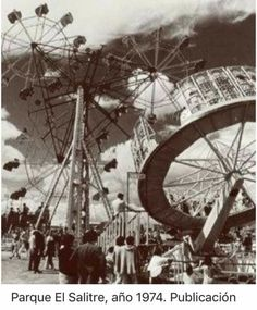 Ferris Wheel, Fair Grounds, Travel, Retro, Old Pictures, Parks, Colombia, Scenery, Historia