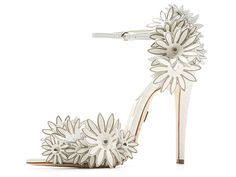 Brian Atwood Cutout Flower Heels! These are darling, and think of the fun outfits to pair with these