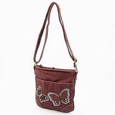 Bongo Women's Handbag Butterfly Cross Body