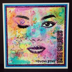 A set of realistic face stamps by Visible Image with separate closed eyes for card making, art journaling and mixed media projects True Colors, Colours, Art Journal Pages, Art Journaling, Journal Ideas, Image Stamp, Face Images, Mixed Media Journal, Card Making Inspiration