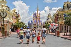 Cinderella's Castle Disney Vacation Planning, Disney Vacations, Trip Planning, Disney Day, Disney Parks, Walt Disney World, Blizzard Beach, Cinderella Castle, Wear Sunscreen