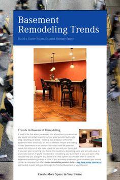 Basement Remodeling Trends #homeremodeling #basementdesign #basement #interiordesign #basementremodeling