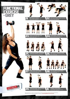 escape charts on pinterest  dumbbell exercises dynamic