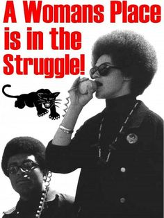 When many people think of the Black Panther Party today, the image that comes to mind is male-centered and violent: a powerful man wearing the Pa...