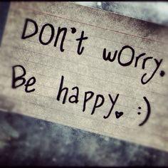 Sii felice..