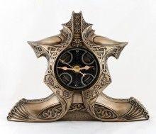 Bronze Edhen Clock of Celtic Design $120 Greenmantle Gifts has a huge Celtic/Green Man section take look! www.greenmantlegifts.com
