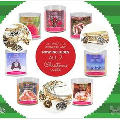 Our Pink Flame #Chrysalis Wonderland #doublewick #soywax #candles now come in all 7 of our #Christmas scents!  Choose the color of your bracelet and your charm!  http://ift.tt/1mLfunp