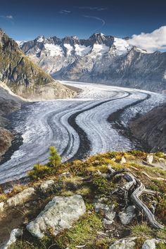 Aletsch Galcier, Switzerland | Chris Hopkins