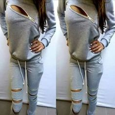 2 Piece Set Hoodie Pullover and Jogging Pants
