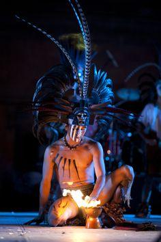 Danzante enColima. México