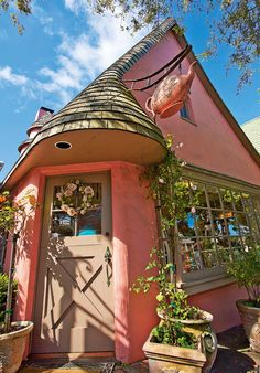 Rose Tea Cottage in Carmel, CA. Mike Barton Photography.