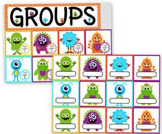 I have a new freebie and classroom materials pack, and they're MONSTER-rific! The freebie contains ten positive behavior coupons with a f. Monster Theme Classroom, Classroom Design, School Classroom, Classroom Themes, Classroom Organization, Future Classroom, Monster Room, Monster Mash, Monster Decorations