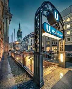Corporate Identity Design, Bahn Berlin, Underground Tube, U Bahn, Berlin Germany, Wonders Of The World, Wanderlust, City, Places