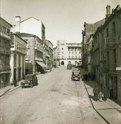 Memorias de Compostela: Rúa da Senra. #Santiago de Compostela #santiagodecompostela #fotosantiguas
