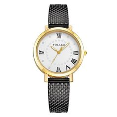 2018 new arrival original fashion ladies quartz watches environmental PVC imitation mesh women watch Personality Roman numerals Simple Cheap Watches outfit accessories from Touchy Style store Cheap Watches For Men, Cute Watches, Sport Watches, Vintage Watches, Women's Watches, Jewelry Watches, Rose Gold Watches, Quartz Watches, Black Watches