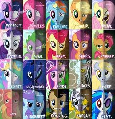 The Darker Side of Ponies Did anyone else realize that Big Macintosh's face was the same on both sides..? Xd