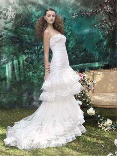 vestidos de novias de palabra de honor