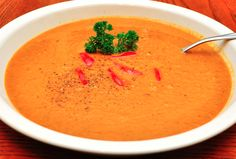 Smooth Sweet Potato and Lentil Soup - Foodista.com