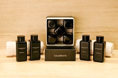 A selection of five Bath and Shower Gels in five exquisite, unique Charlotte Rhys fragrances.  Simply irresistible.