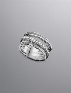 Diamond, Gold & Sterling Silver Rings   Women's Jewelry   David Yurman