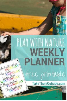 Get outside with these printable summer schedules. Get nature activities ideas and a weekday planner for homeschooling or summer vacation activity ideas for kids | #printables #summerfun #kidsactivities #parentingtips #outdooractivities #homeschooling #takethemoutside #getoutside