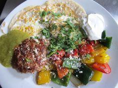Huevos rancheros at Philco Bar + Diner in Columbus, OH