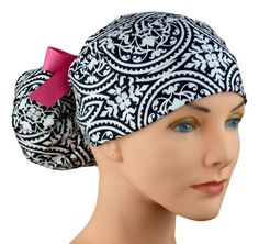 Huge selection of stylish fabric surgical scrub caps and chemo hats for women. Perfect fit, adjustable, Made in the USA. Scrub Caps, Hats For Women, Ponytail, Scrubs, Perfect Fit, Usa, Stylish, Fitness, Fabric