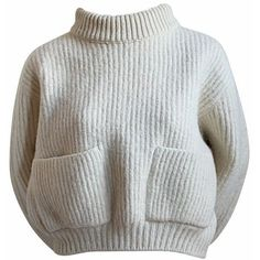 1980's AZZEDINE ALAIA cream cropped mohair sweater ❤ liked on Polyvore featuring tops, sweaters, 80s sweaters, mohair sweaters, cream cropped sweater, cropped pullover sweater and crop pullover