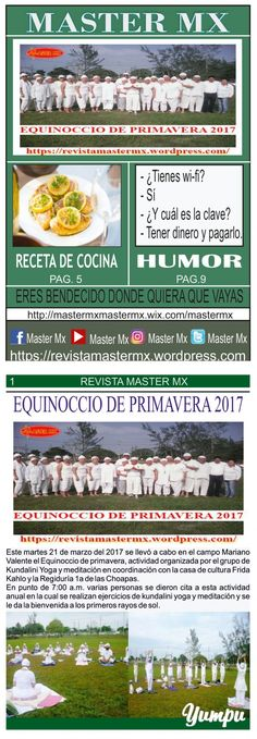 MASTER MX 74a EDICION - Magazine with 12 pages: REVISTA MASTER MX