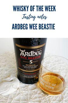Ardbeg Wee Beastie 5 yo Whisky Review and Tasting notes Ardbeg Whisky, Beer Bottle, Whiskey Bottle, Single Malt Whisky, Scotch, Bourbon, Scotland, Tourism, Packaging