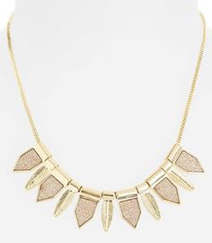 #glitter leaf #necklace  http://rstyle.me/n/f3rtgpdpe