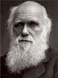 """Charles Darwin English naturalist. Ebooks of his works. According to Wikipedia: """"He established that all species of life have descended over time from common ancestors, and proposed the scientific theory that this branching pattern of evolution resulted from a process that he called natural selection, in which the struggle for existence has a similar effect to the artificial selection involved in selective breeding."""""""