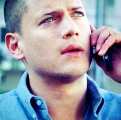 Michael made this stressed, longing look too many times in Prison Break :( He could never catch a break...
