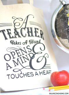Teacher Appreciation Tote